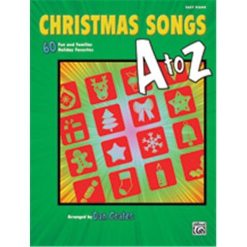 Alfred 00-40856 CHRISTMAS SONGS A TO Z - EP COATES
