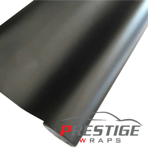 Matte Black Car Vinyl Wrap Air/Bubble Free 1.52m x 1m