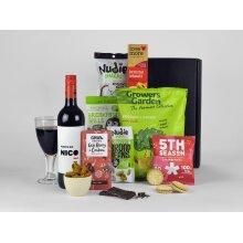 Vegan Gift Hamper with Wine
