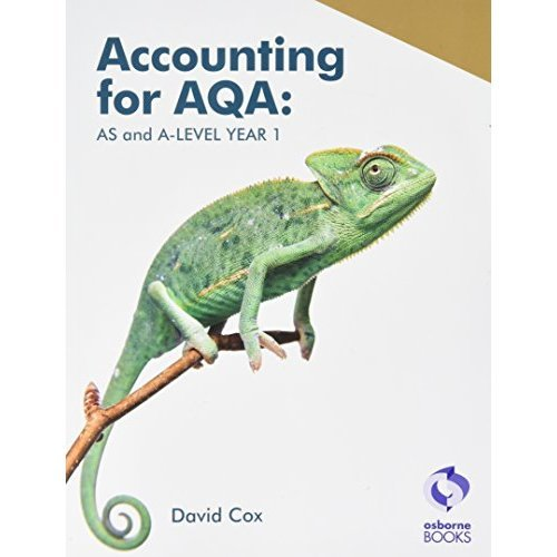 Accounting for AQA : AS and A Level Year 1 (Aqa Accounting)