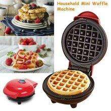 Mini Waffle Maker Non-Stick Pancake Coating Machine Kitchen Supplies