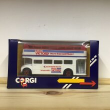 Corgi 1984 Radio Victory More Than Just Music Bus - Used