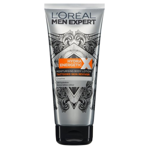 L'Oreal Men Expert Hydra Energetic Tattoo Reviver Lotion, 200ml