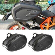 Motorcycle Motorbike Pannier Storage Side Bags Saddle Bags Rain Cover