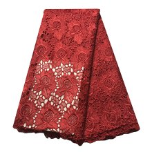 african lace fabric embroidery mesh cord lace guipure fabric