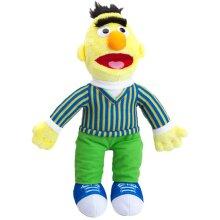 Sesame Street 467192 Bert & Ernie Bert Large Officially Licensed Plush, Multicolour, 30cm