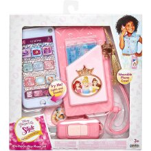 Disney Princess Style Collection Cross Body Purse and Play Phone, Pink