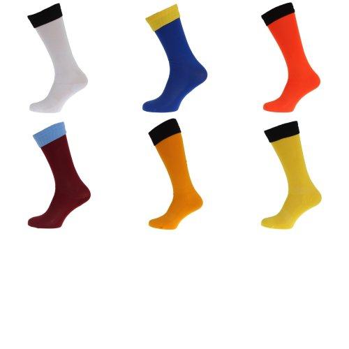 Apto Childrens/Kids Contrast Football Socks