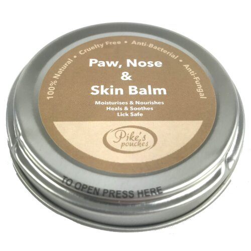 Dog Cracked Paw Cream, Snout Soother and Wrinkle Balm