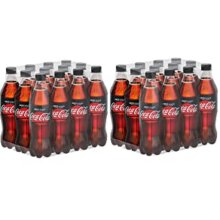 Coca Cola Zero Sugar No Calories Drink 24x500ml Best Before 31.12.2020