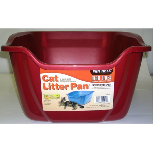 Van Ness High Sided Cat Pan Large (assorted colours)