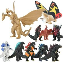 10pcs Godzilla King of the Monsters Action Figure Toy PVC Doll Kids Xmas Gift