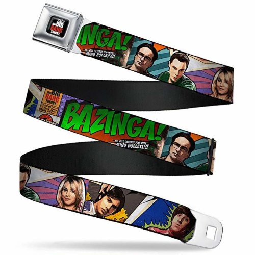 Seatbelt Belt - The Big Bang Theory - V.17 Adj 24-38' Mesh New bbta-wbbt005