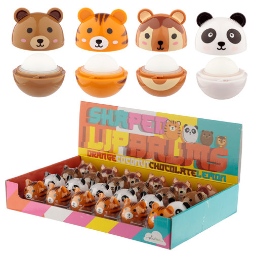 Funky Lip Balm - Cute Animal Designs