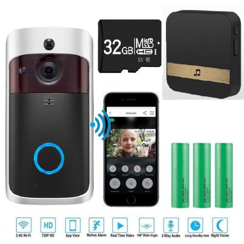 Wireless Video Doorbell Camera WiFi Smart Doorring