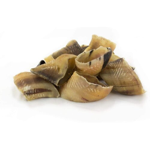 British Dried Empty Beef Cow Hooves x50 For Dogs, 100% Natural Treats, Long Lasting Grain Free Chew