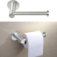 Wall Mounted Toilet Roll Holder Chrome Tissue Paper Stand Bathroom