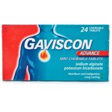 Gaviscon Advance Mint Chewable Tablets 24