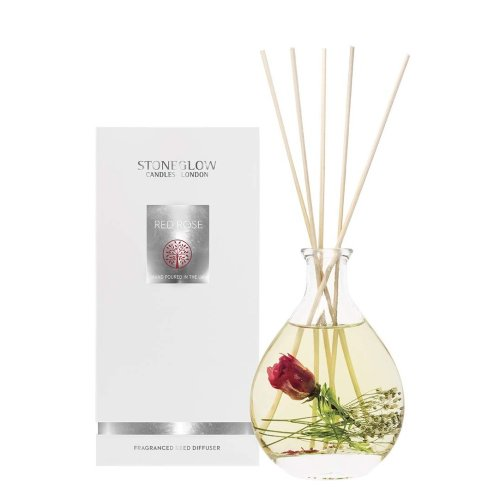 Stoneglow Candles Nature's Gift 2019 Scented Reed Diffuser Red Rose