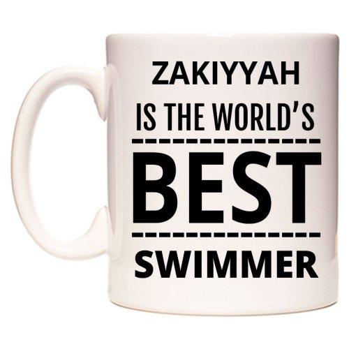 ZAKIYYAH Is The World's BEST Swimmer Mug