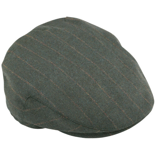 (55 / 56 - Small, Green) Percussion Checked Wool Cap