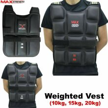 Weighted Vest Gym Running Fitness Sports Training Weight Loss Jacket
