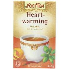 Yogi Organic Heartwarming Teabags (Pack Of 6)