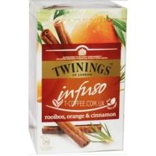 Twinings Infuso Rooibos, Orange & Cinnamon  20 Tea Bags