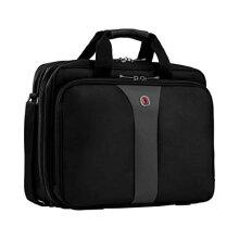"Wenger WA-7652-14F00 Legacy 16"" Double Gusset Laptop Case Black/Gray"