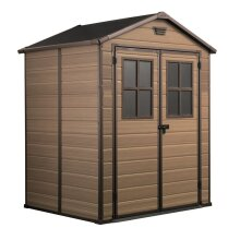 Garden Storage Tools Shed Keter Outdoor Plastic 6x8 ft Scala