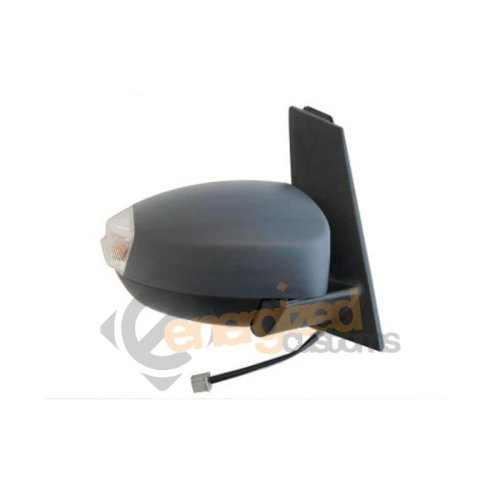 Ford C-max Mk2 9/2010-> Electric Wing Door Mirror Primed Cover Drivers Side