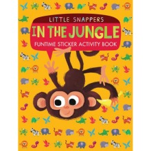 Little Snappers In The Jungle Fun time Sticker Activity Book