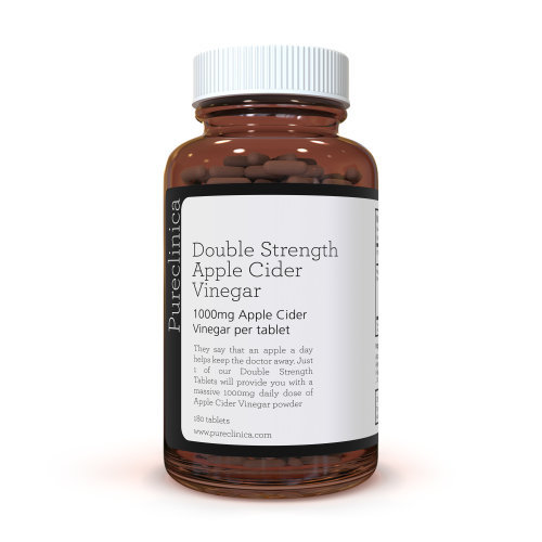 Double Strength Apple Cider Vinegar 1000mg x 180 Tablets (6 Months Supply)