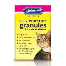 Jvp Cat & Kitten Easy Wormer Granules (Pack of 6)