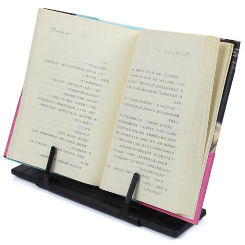 Foldable Adjustable Receipe Display Cook Stand Holder Reading Shelf
