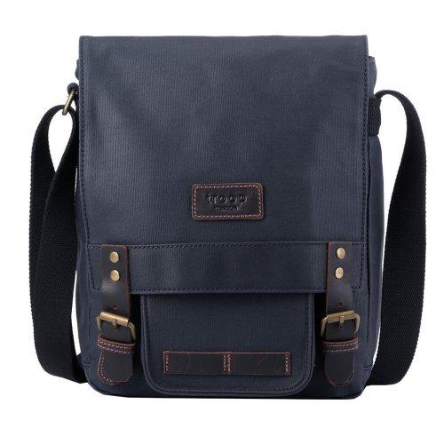 TRP0493 Troop London Classic Canvas Messenger Bag   Buy Bags Online   Canvas Messenger Bags   leather canvas backpack