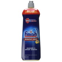 Finish Dishwasher Rinse Aid, Lemon, 800 ml (Pack of 2, Total 1600 ml)