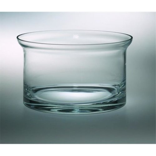 Classic clear 5.5 in. High Quality Glass Flair Bowl