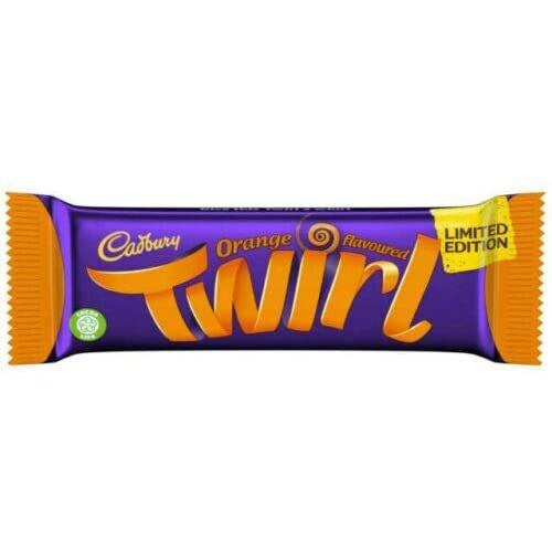 12x Cadbury Twirl Orange New Limited Edition