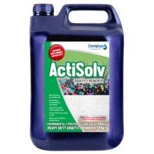 ActiSolv - Heavy Duty Graffiti Remover Spray Porous 5 Litre | Chemiphase Ltd