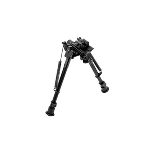 Truglo TG8902S 6 to 9 in. Tac-Pod Pivot Adjustable Bipod with Adaptor&, Black