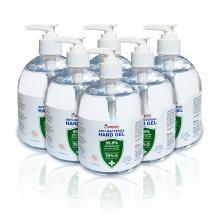 480ML Pack of 6 - Peppy 75% Alcohol Hand Sanitiser Hand Gel (£1.99/Pc)