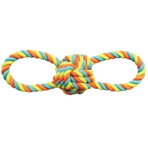 Pet Toy Rope Ball, 11 in.