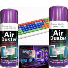 Compressed Air Can Duster Spray Protects Cleaner Laptops Keyboards 200ml