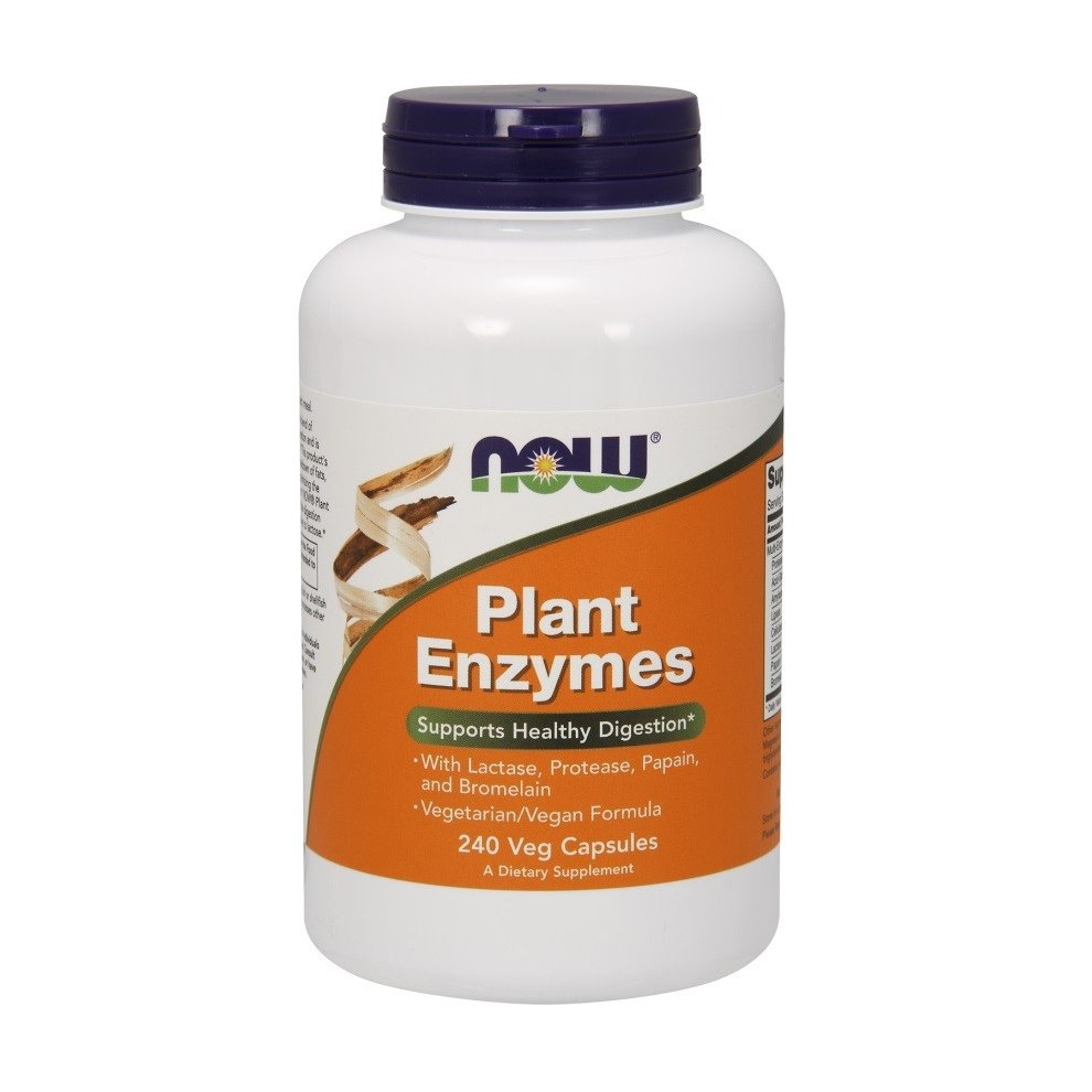 NOW Foods Plant Enzymes, 240 vcaps