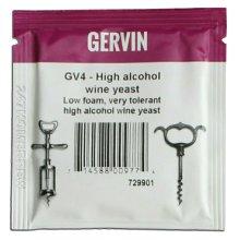 Gervin GV4 Wine Yeast 5g Sachet - High Alcohol for ABV Upto 21% - Homebrew