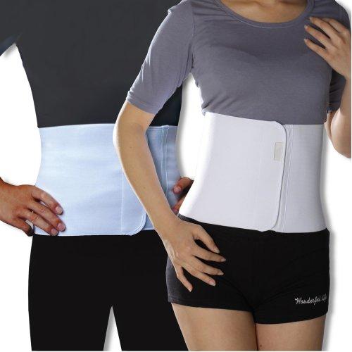 Unisex Abdominal Stomach Waist Back Support Belt