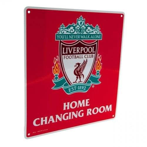Liverpool FC Official Home Changing Room Sign