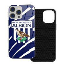 West Bromwich Albion FC Phone Cases Compatible with iPhone 12/ iPhone 12 Pro/ 12 Mini/ 12 Pro Max Glass Back Cover
