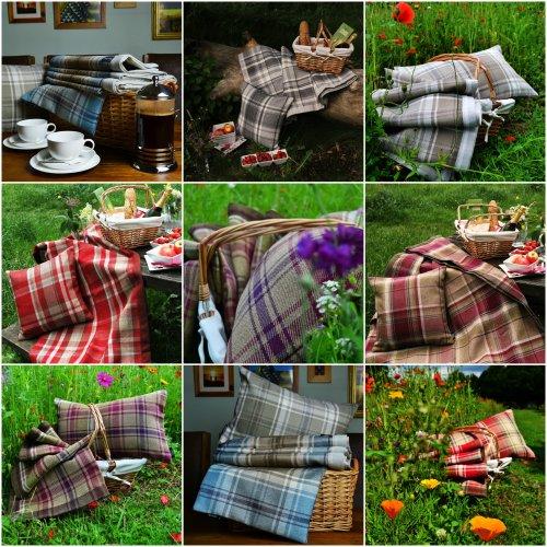 McAlister Textiles Heritage Tartan Check Cushions